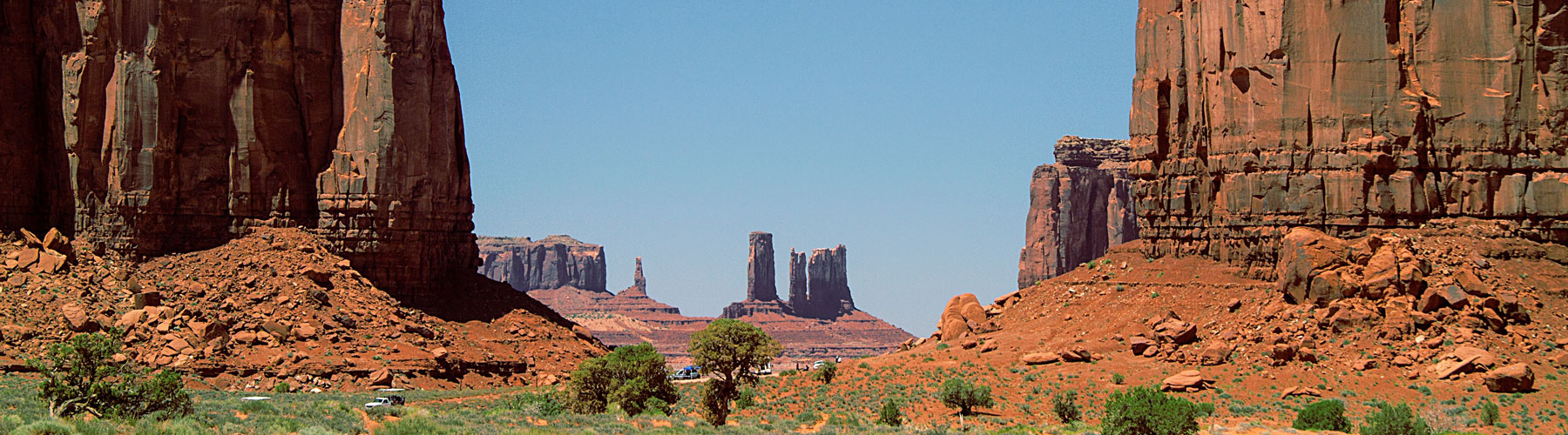 Desert rock formations